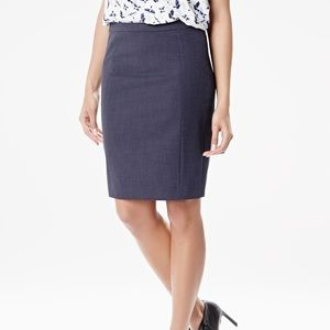 RW&CO. Two toned straight pencil skirt
